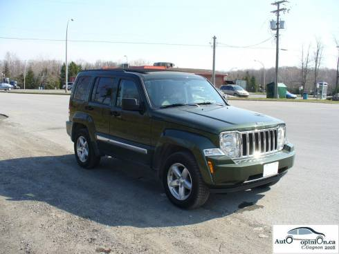 Essai routier complet: Jeep Liberty 2008
