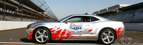 La Camaro devient pace-car des 500 miles d'Indianapolis