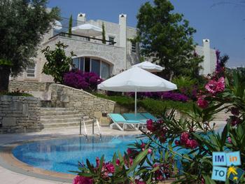 Location: Vue imprenable sur la mer Egée et les îles grecques de Kalymnos et Leros.
