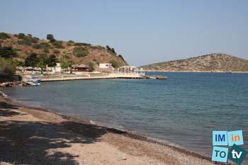 Villa en rivage, un endroit préservé, calme, authentique, une nature pure et authentique.