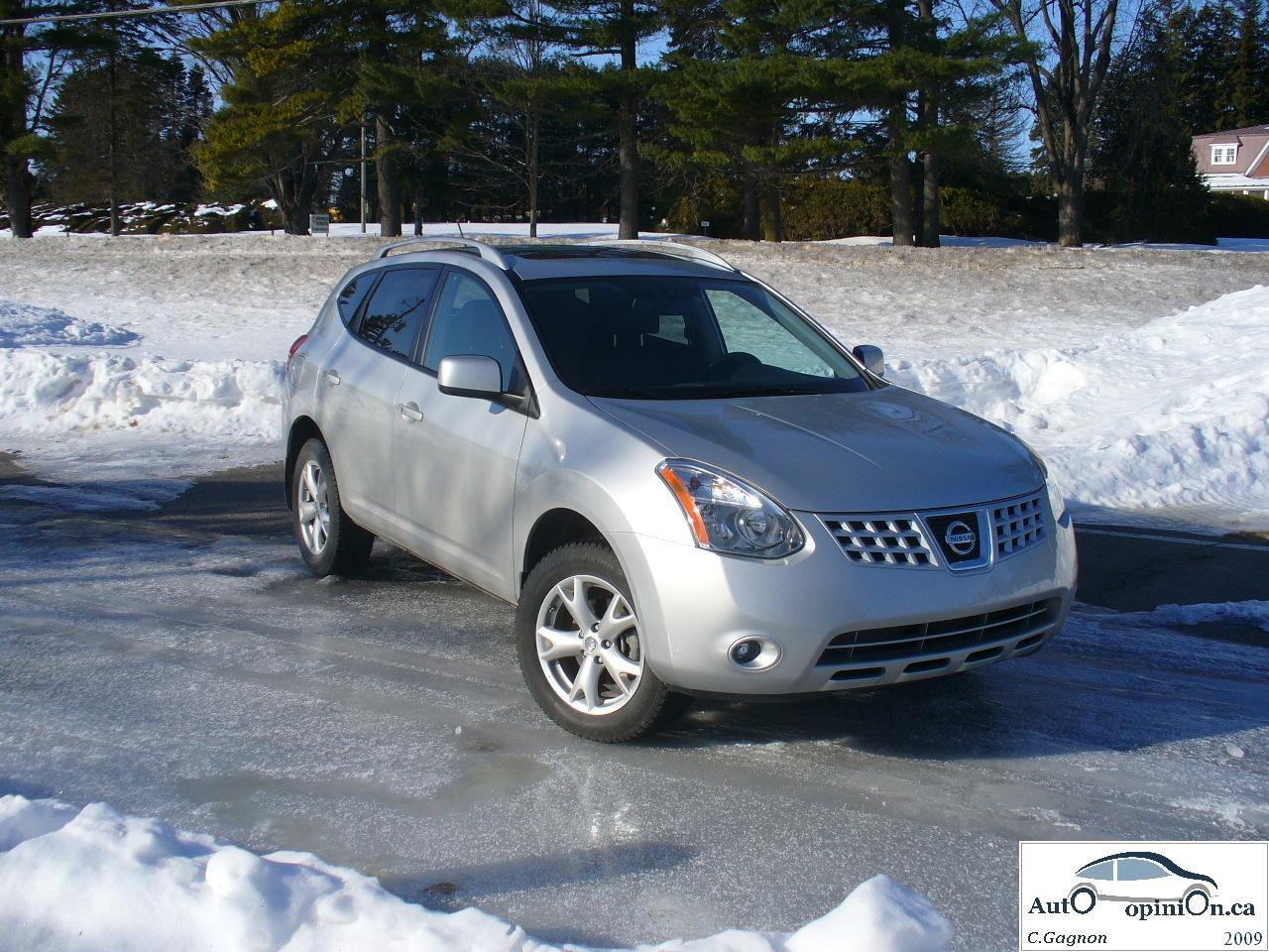 Essai routier complet: Nissan Rogue 2009