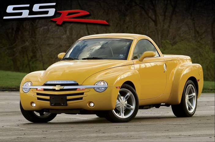 Chevrolet SSR – Un roadster unique