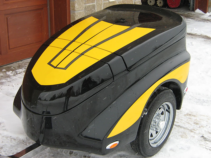 Motorcycle Trailers : The Trekker, if you search a new motorcycle trailer for sale !