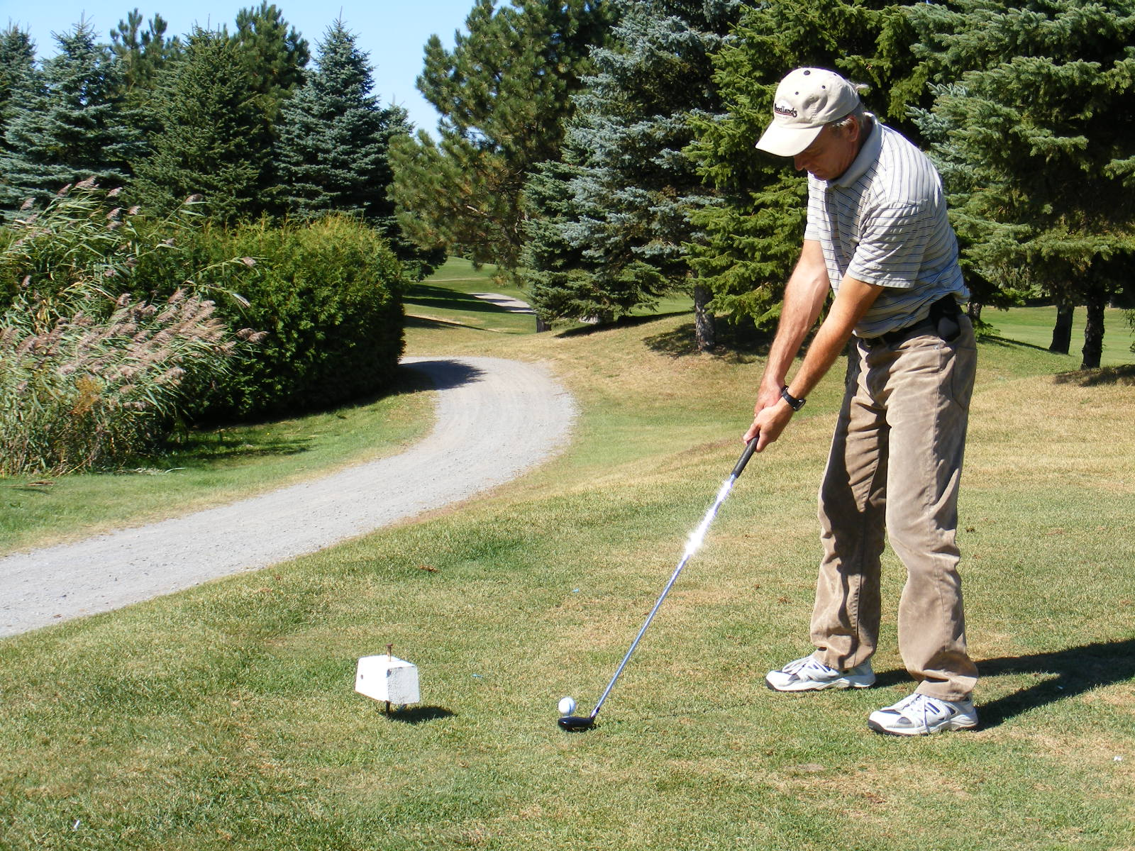 La prise du baton de golf, la clé pour un birdie