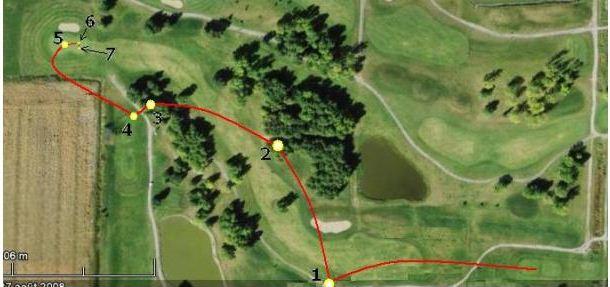 Une Leçon de golf donné par la nature à Lanaudiere