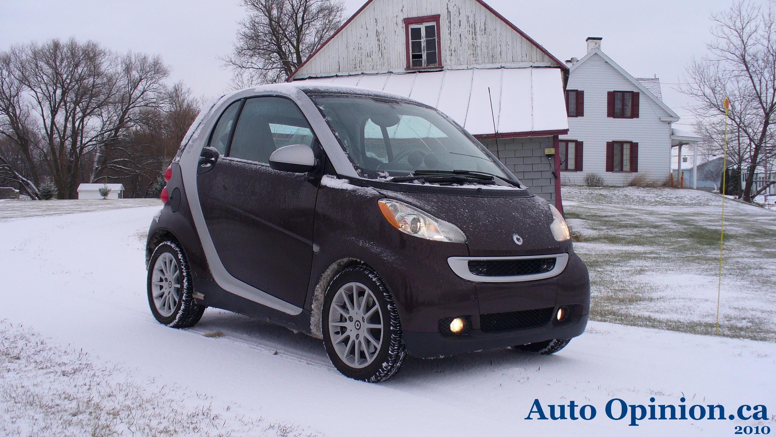 Essai routier complet: smart fortwo 2010