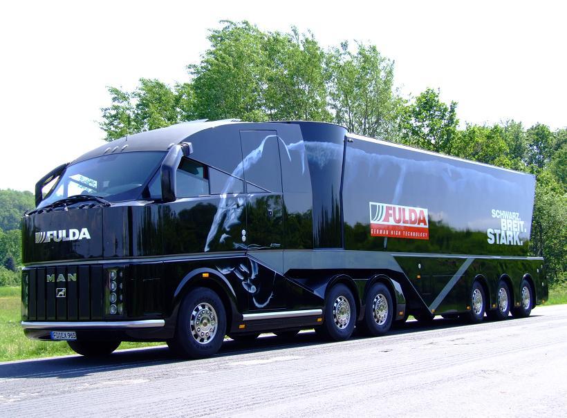 Le Man show truck de chez Fulda