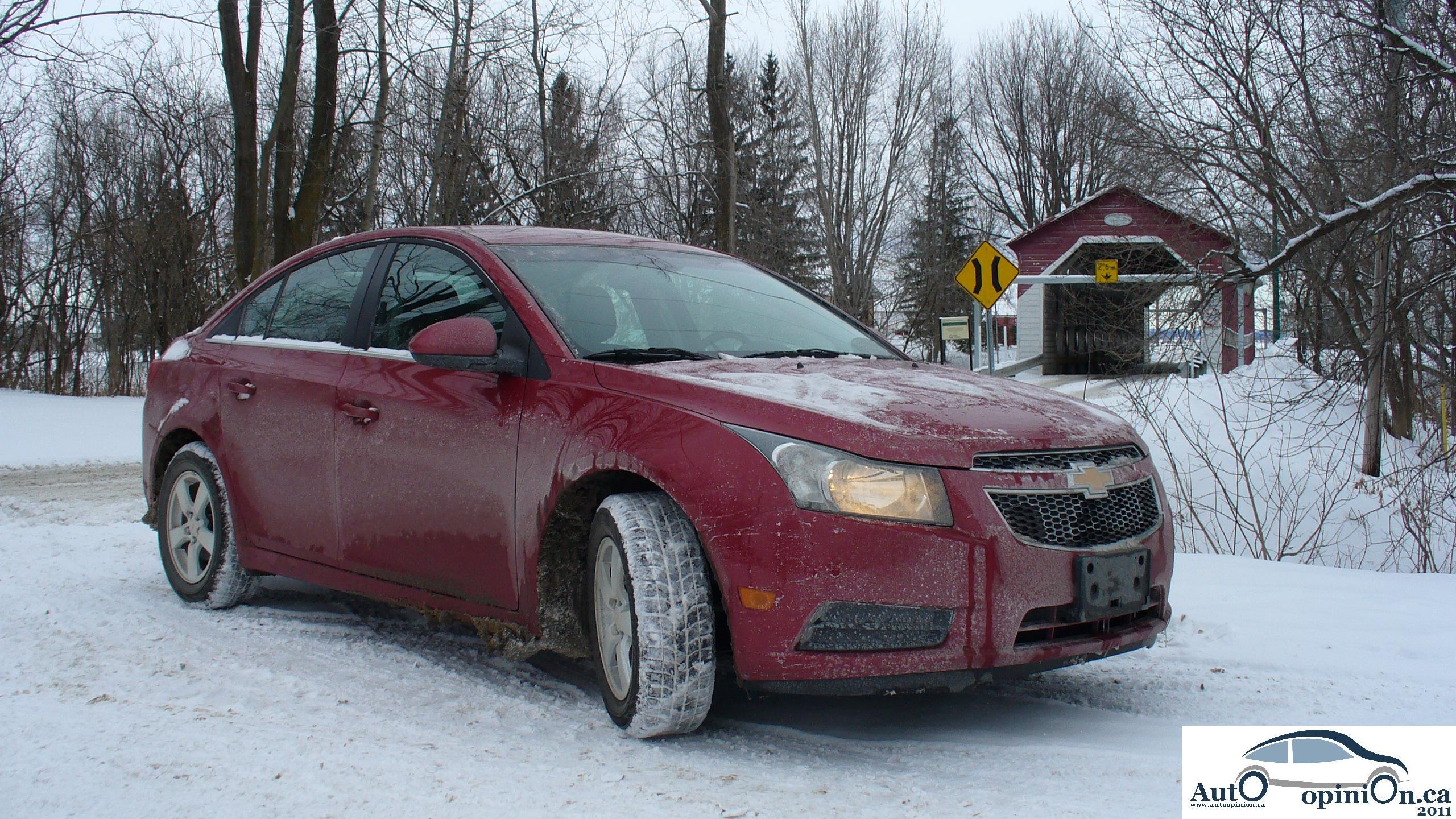 Essai routier complet: Chevrolet Cruze 2011