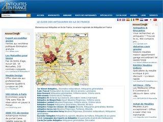 Les antiquaires à Paris
