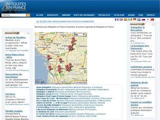 Les antiquaires en Poitou-Charentes