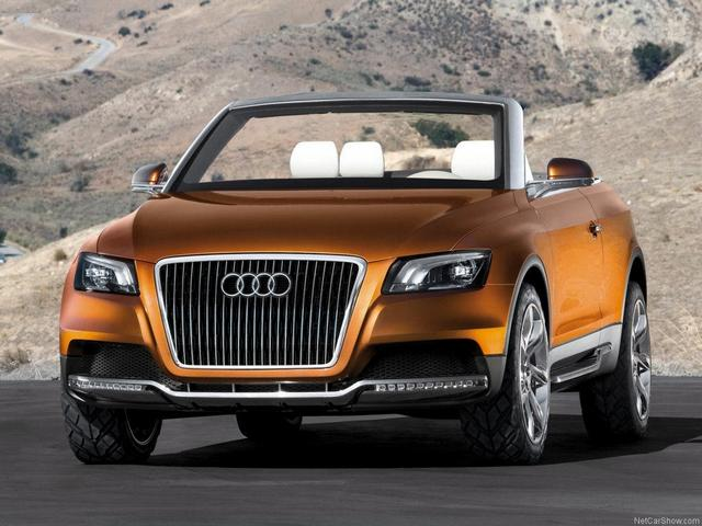 Le concept Audi Cross cabriolet en production?