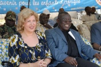 Dominique Ouattara, Première Dame de coeur pour la Côte d'Ivoire