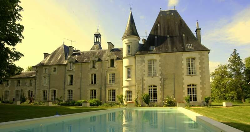 Week-end romantique dans un château