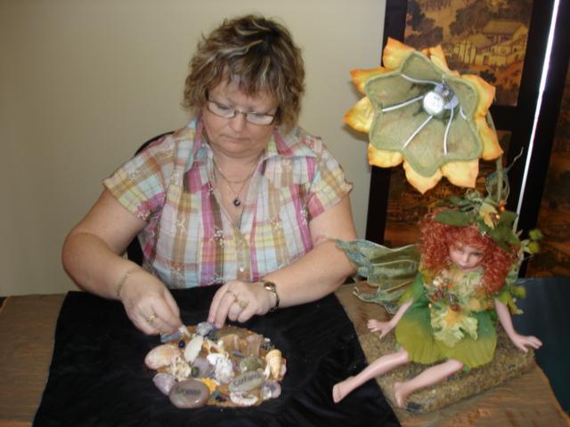 Carmen géomancienne,chamane et enseignante spirituelle.
