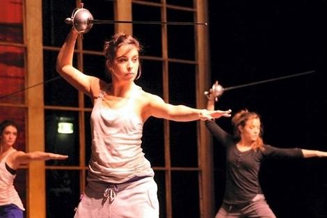 Réglage ballet de cape et d'épée