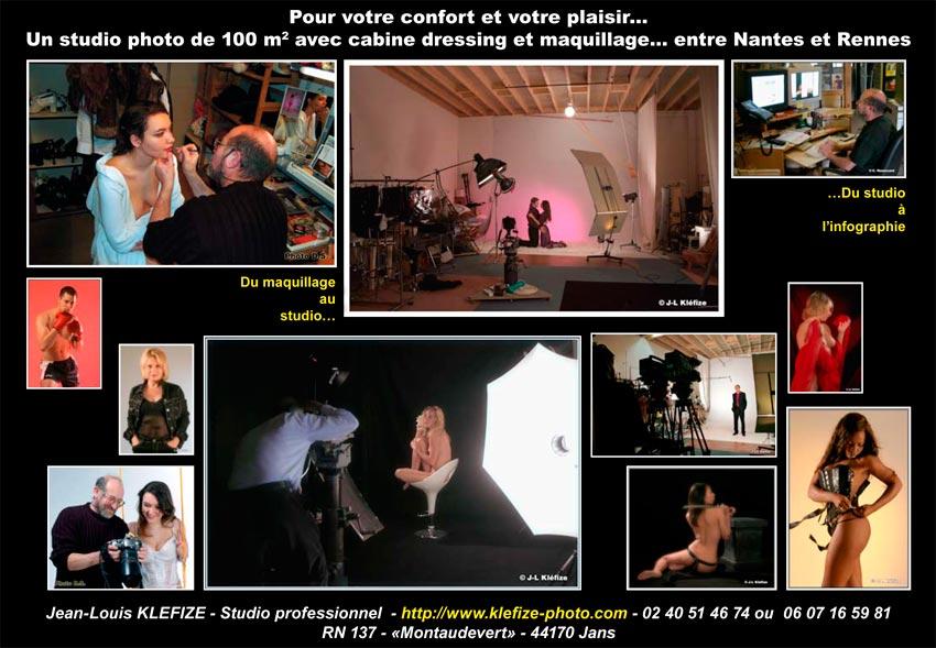 Votre Enterrement de Vie de Jeune Fille – EVJF – en photos en studio entre Nantes et Rennes