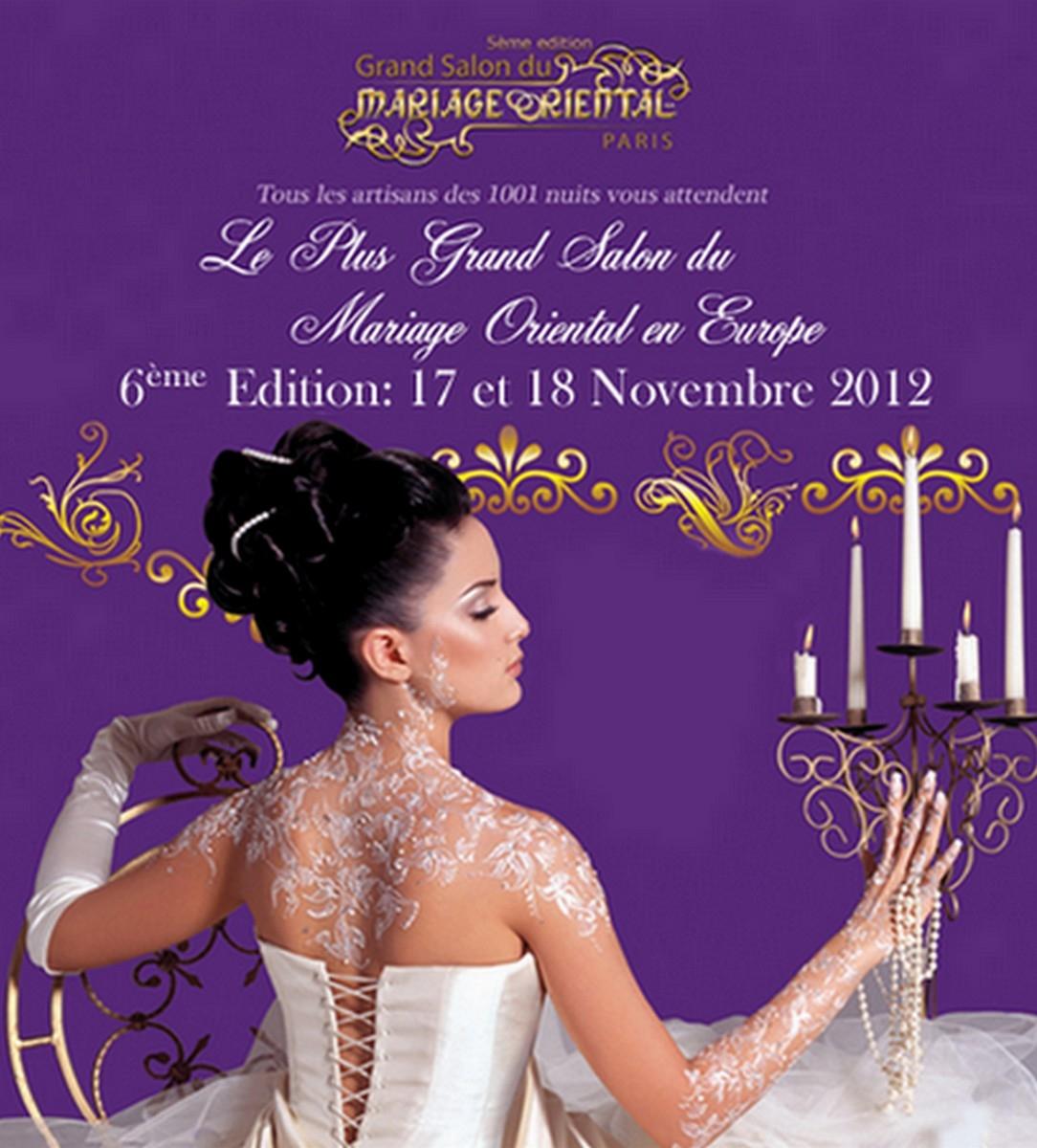 Le Grand Salon du Mariage Oriental 2012