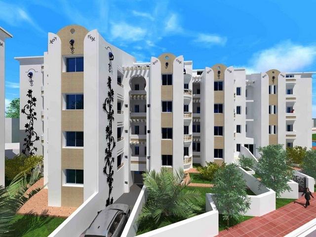 Tunisie Port El Kantaoui immobilier à  très bon prix studio et appartements a 100m de la mer et a 2 minutes de la Marina