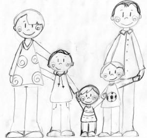 Dessiner la Famille :