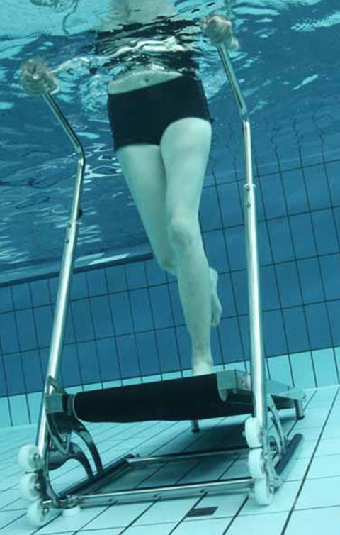 Le tapis de course piscine pour plus d'efficacité contre le poids et la cellulite.