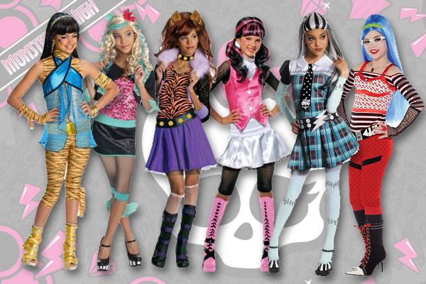 idée déguisement pour halloween 2012 : tout sur Monster High