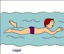 Apprendre à nager c'est ausi gérer le temps des brassées :