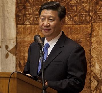 François Hollande salue Xi Jinping