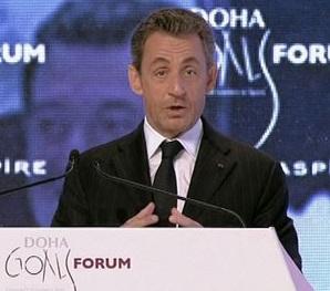Au Doha Goals, Nicolas Sarkozy parle du sport mondial