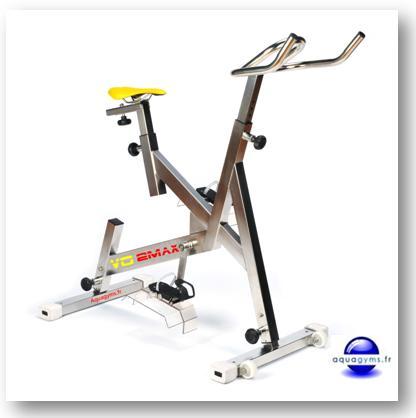 Le vélo piscine contre la cellulite,  le poids…