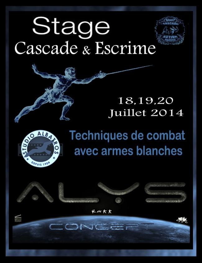 Stage d'Escrime Cascade Juillet 2014