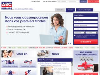 ABC Binaire, société d'investissement en ligne