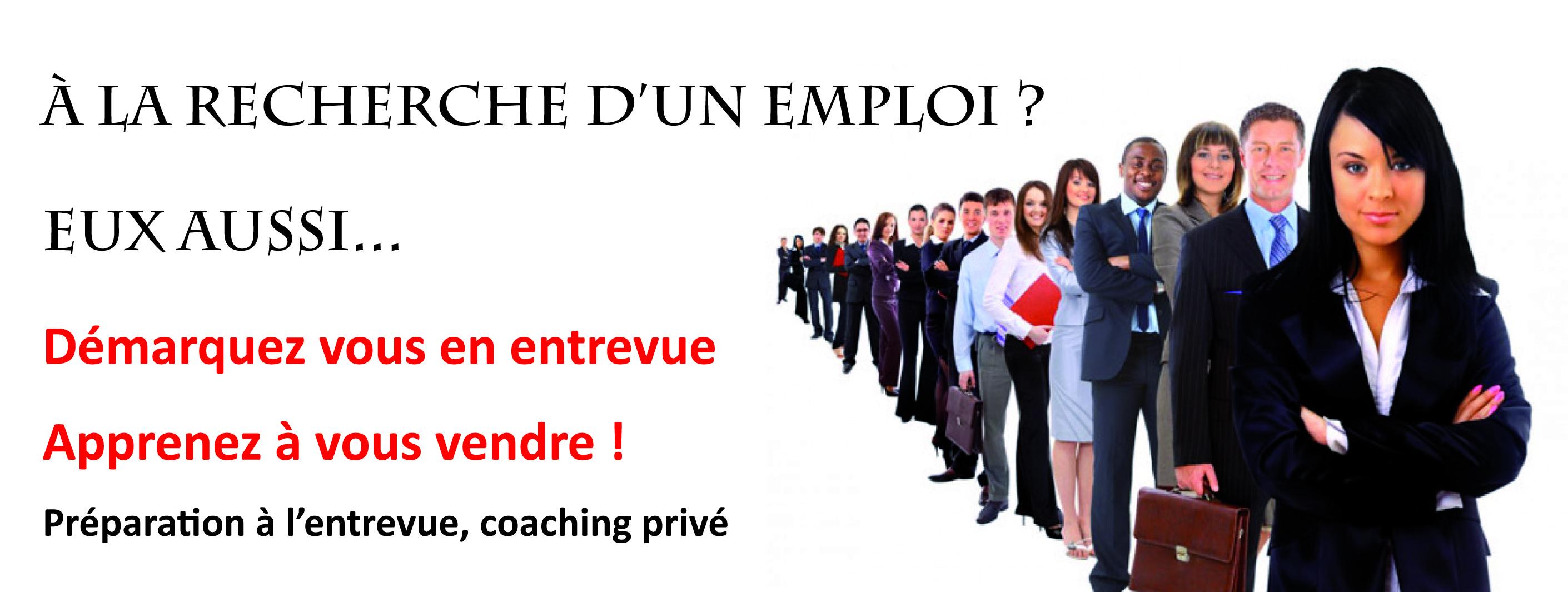 La recherche d'emploi et l'entrevue de sélection
