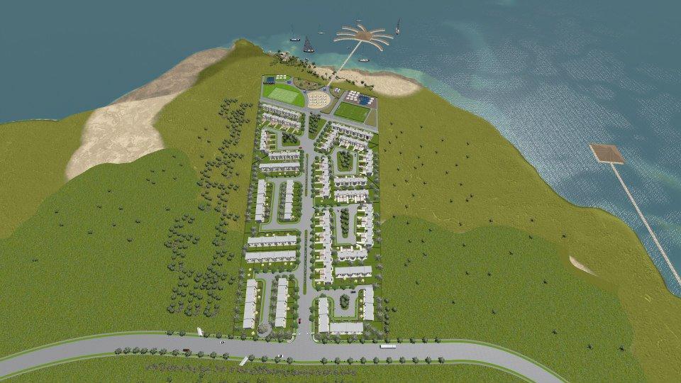 Tunisie Kerkennah residence devenez propriétaire de votre appartement 1 chambre S+1 au pied de la Méditerranée à partir de 32.500 euros