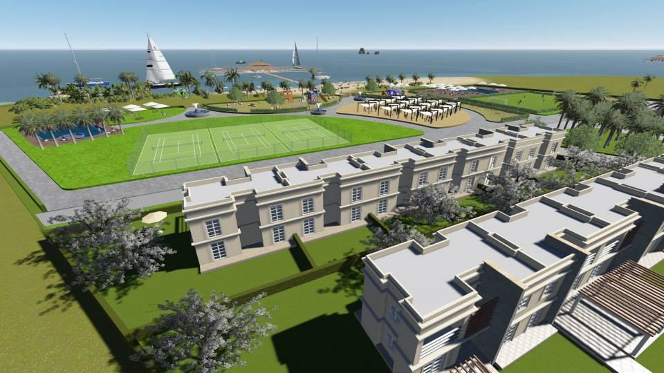 Archipel des iles kerkennah a vendre jolie villa en duplex de 3 chambres s+3 avec vue mer et a 300 m de la plage privee