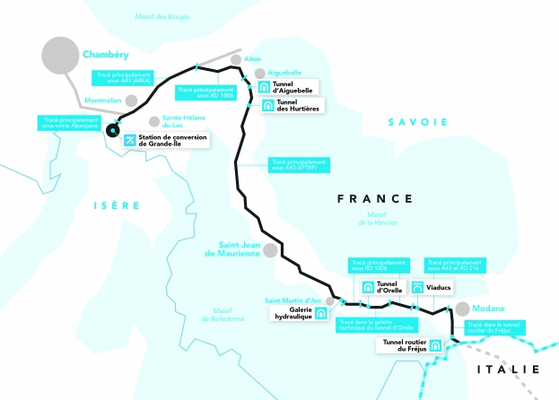 La ligne électrique la plus longue du monde en construction en Savoie