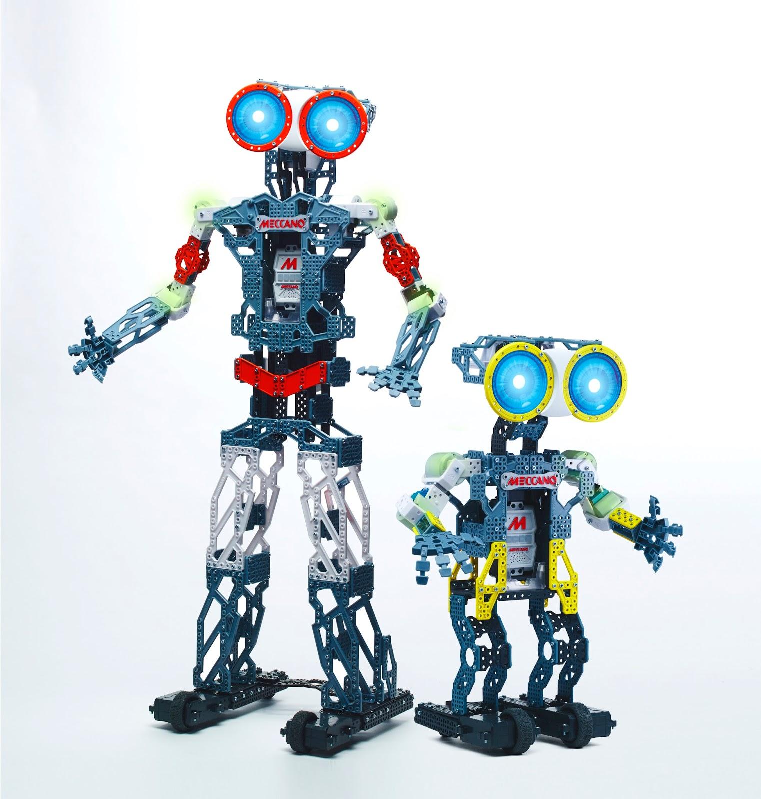 Idée de cadeau pour un enfant : les robots meccanoids