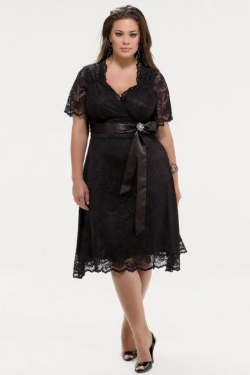 Que pensez-vous pour robe cocktail grande taille