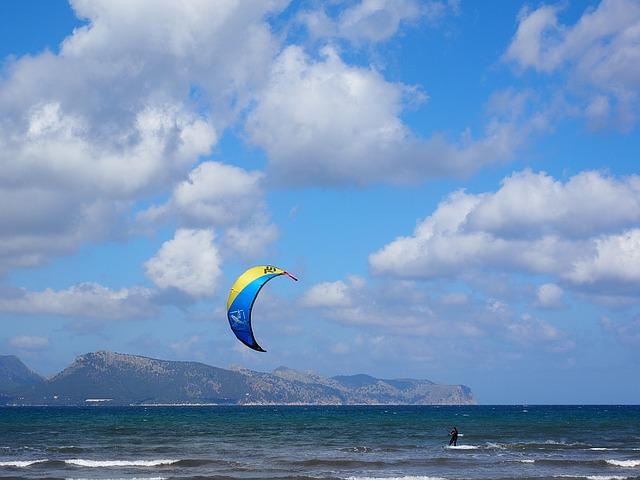 Faire du kitesurf en France : les principaux spots