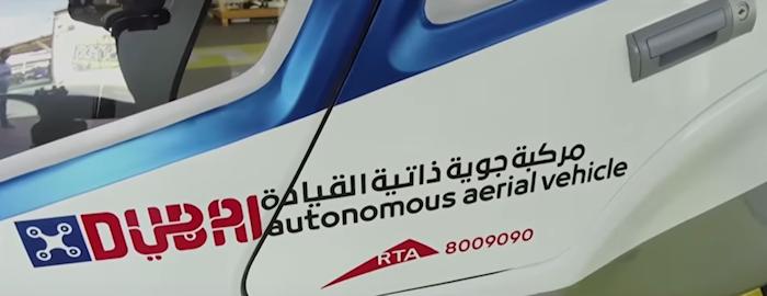 Voyage à Dubai : admirer les drones taxis