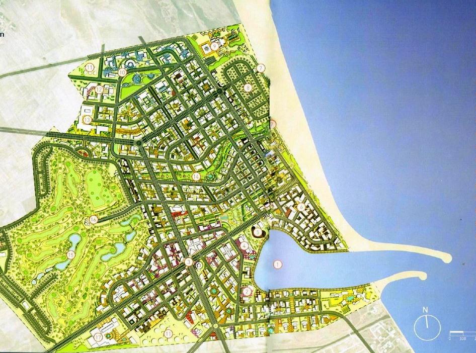 Tunis Bay inauguration lancement du projet du Port Financier Tunis Financial Harbour ainsi que du résidentiel golf a Raoued Plage