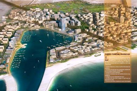 Tunis Bay Project Résidentiel golf villa Ulysse isolée Boulevard Meninx investir en Tunisie