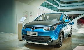 La voiture électrique BAIC EC180 est chinoise et est la plus vendue