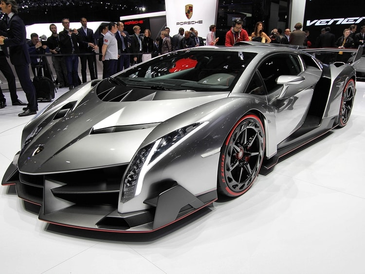 La supercar de Lamborghini, une voiture futuriste