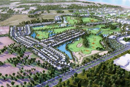 Résidence Golf Tunis Bay villa Oceanos 15 jumelée, Boulevard le Capitole S+4 neuf