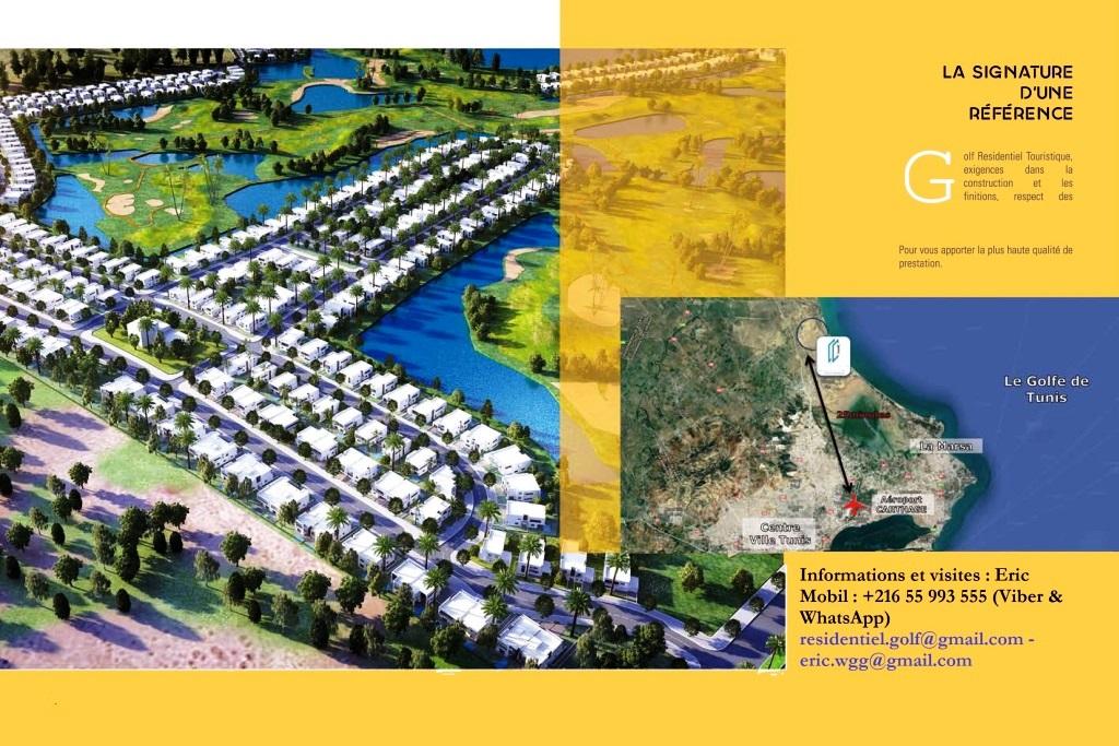 Tunis Bay nouvelle résidence golfique
