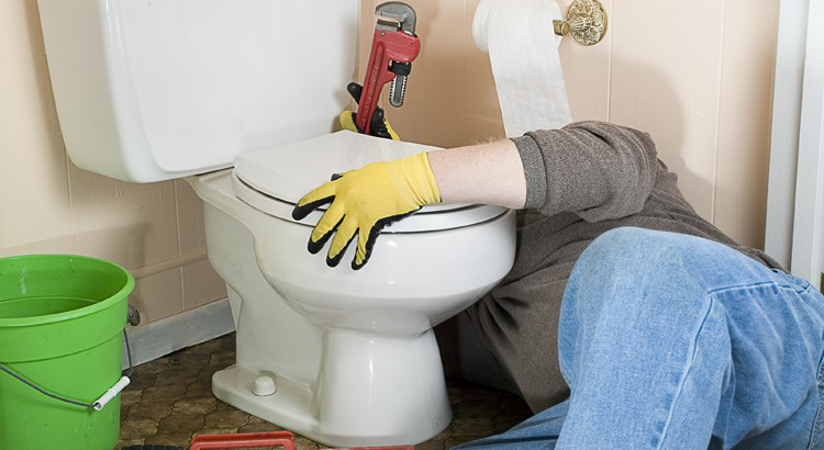 Fuite WC entre la cuvette et le carrelage