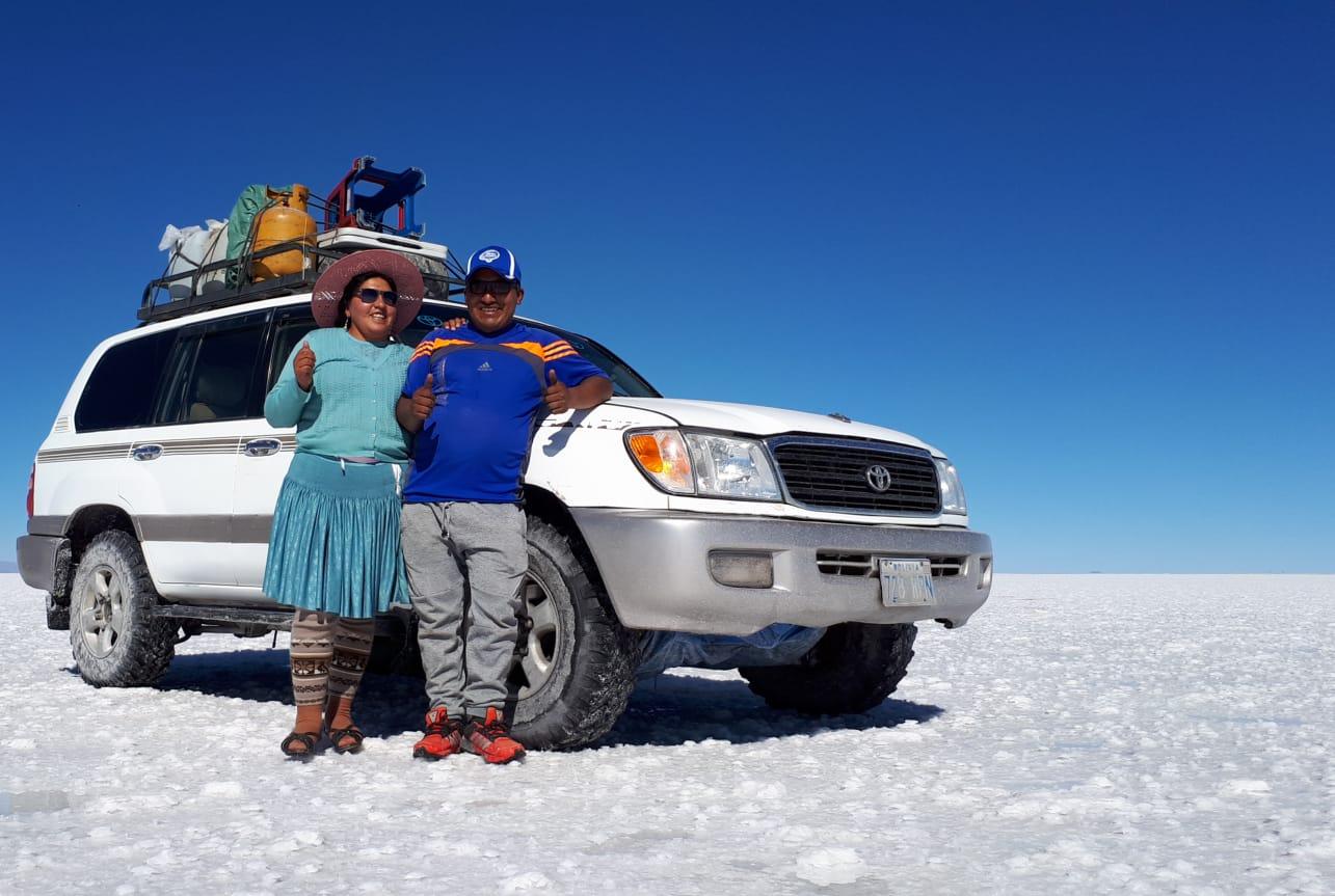 Salar de Uyuni, le plus grand désert de sel du monde