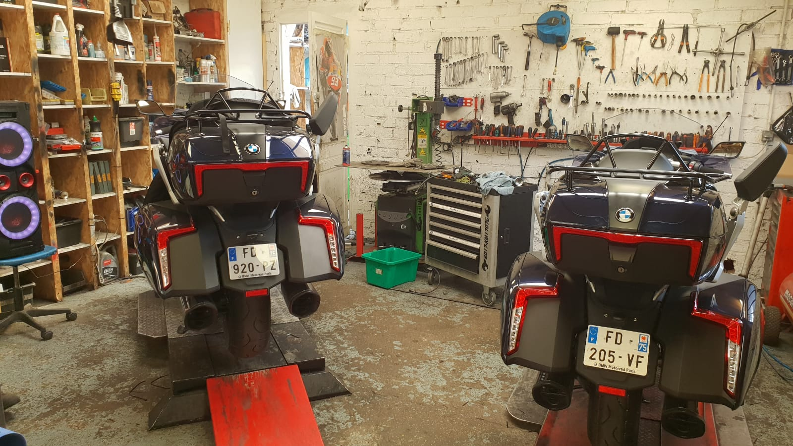 Vidanger sa moto : les étapes essentielles