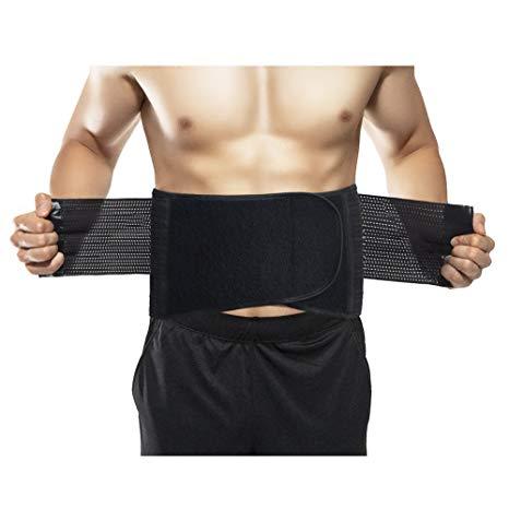 Risque et utilisation de ceinture abdominale