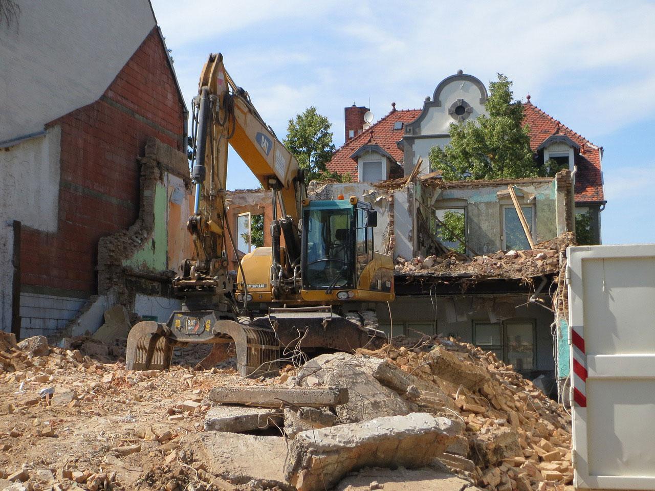Focus sur la gestion des gravats de démolition